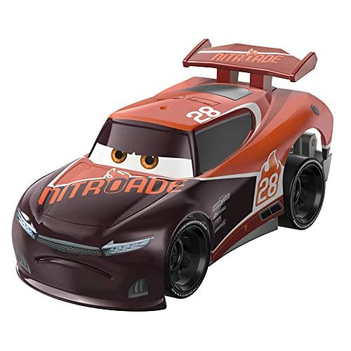 Disney Cars Turbo Racers, Macchinina Tim Treadless Die Cast, Giocattolo per Bambini 3+ Anni, GFY54