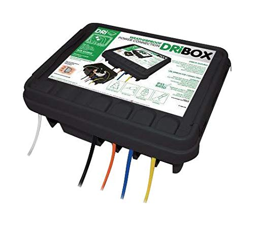 SBLB - Plastic Enclosure, SocketBoxDri-Box Weatherproof Electrical Box, Plastic (Pack of 2) (SBLB)