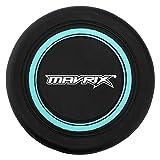 Mavrix - Disco Volador Unisex de Silicona para niños y Adultos, Duradero y Flexible, Color Negro y Verde, Talla única