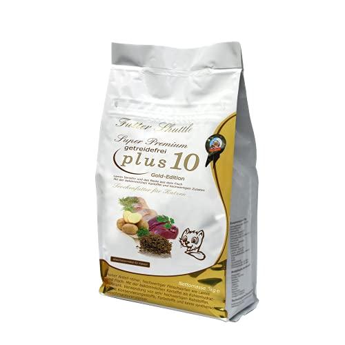 Getreidefreies Katzenfutter Trockenfutter Plus 10. 3kg Mit Plus 10 Effekt. Einzigartig auf dem Markt. Katzen Trockenfutter