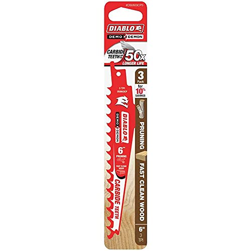 Freud-Diablo 3PK 6 TCT Fast Wood + Pruning