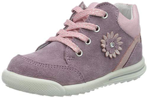Superfit Mädchen Avrile Mini Sneaker, Violett (Lila/Rosa 90), 24 EU
