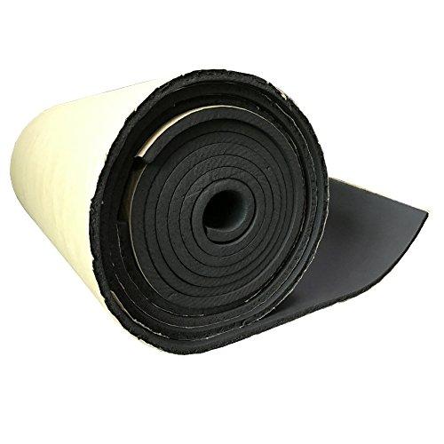 Supmico 1 rotolo auto insonorizzazione isolamento fonoassorbente chiuso Antirombo Antivibrante Foam Adesivo Stuoia 3mm 50cm X 100cm