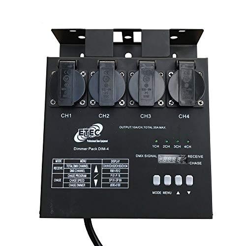 ETEC Dimmer Pack DIM-4 DMX MultiDim Schuko