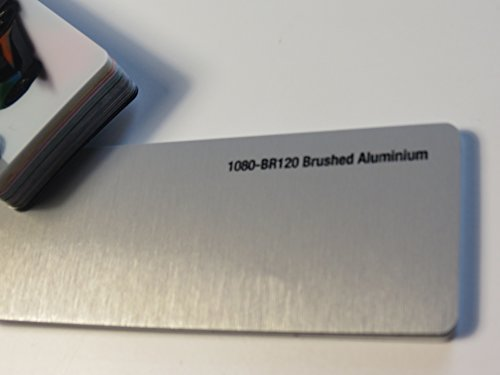 3M (48,45€/m2) Scotchprint Wrap Film Series 1080 Aluminium Gebürstet gegossene Autofolie 100 x 152 cm Zuschnitt