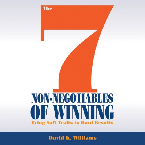 The 7 Non-Negotiables of Winning audiobook cover art
