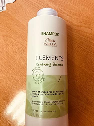 Champu Wella Elements 1 litro Nuevo sin sulfatos ni siliconas, con aloe vera