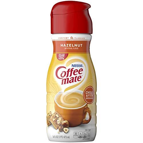 Coffeemate Liquid, French Vanilla, 16 Fl Oz (Pack of 6)