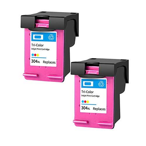 Cartuchos de tinta remanufacturados para impresoras Deskjet 3720 3730 3700 AMP 100 120 125 130 2 colores