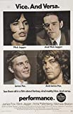 Performance (Nicholas Roeg, Mick Jagger, James Fox) ? Mini poster / coupe livre