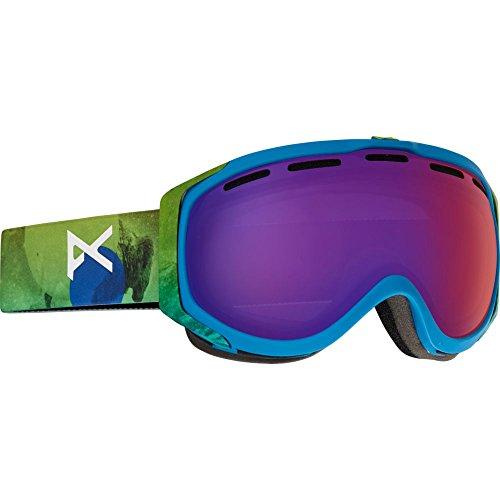 Burton Herren Snowboardbrille HAWKEYE, Tatonka/Blue Fusion, One size