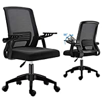 Home office desk chairs – Check the difference! Our High back with headrest office chairs for teens, cute desk chair with footrest, white/Black desk chair with soft seat and mesh back. Strong metal base offers stability, durability for your computer ...