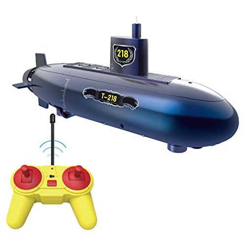 Qianyuyu RC Mini Submarine 6 Channels Remote Control Under Water Ship RC Boat Model Kids Educational Stem Toy for Children Gift