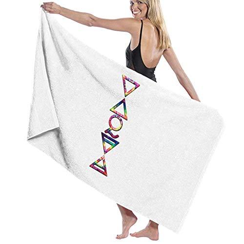 U/K Toalla de baño 4 Elements Plus 1 V Tie Dye de secado rápido