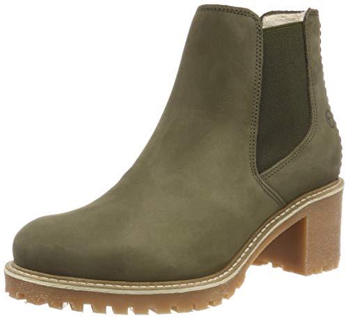 Tamaris Damen 25447-21 Chelsea Boots, Grün (Olive 722), 38 EU
