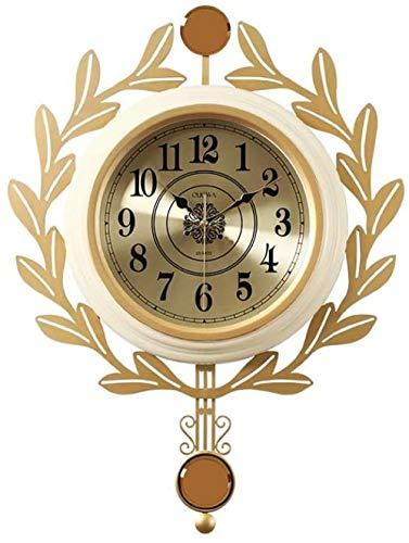 Reloj de pared de moda para el hogar, reloj de pared de arte moderno de la sala de estar reloj de pared de la personalidad creativa reloj de
