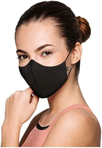 Bloch Soft Stretch Reusable Face Mask Pack of 3 Black Adult product image