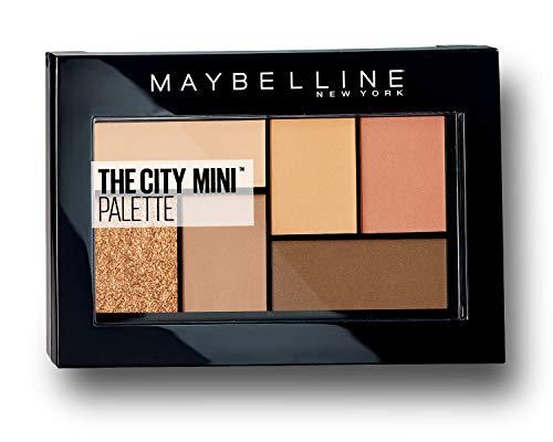 Maybelline New York The City Mini Lidschatten-Palette 550 Cocoa City orange