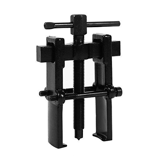 Extractor de dos garras Dispositivo de elevación separado que fortalece los rodamientos Herramientas manuales de mecánica automotriz para el mantenimiento de rodamientos(3 inches (38 x 65))