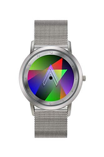Colour Inspiration Unisex Analog-Digital Quarz Uhr mit Edelstahl Armband 10103932V00000110