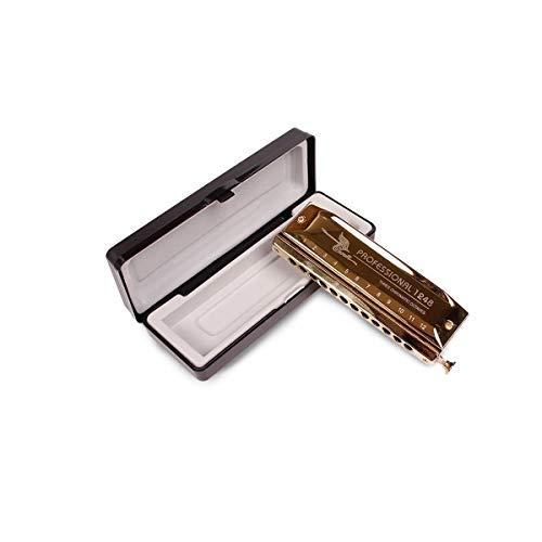 KMDSM Harmonica Senior Professional Hombres y mujeres 12 hoyos de 48 tonos...