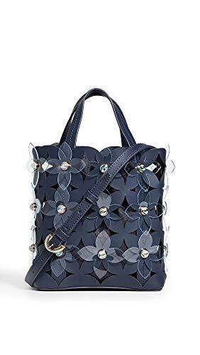 ZAC Zac Posen Women's Floral Bouquet Small North/South Shopper Bag, Parisian Nights, One Size