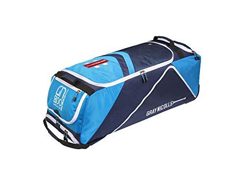 GN800 Cricket-Tasche mit Rollen, Blau/Marineblau/Grau