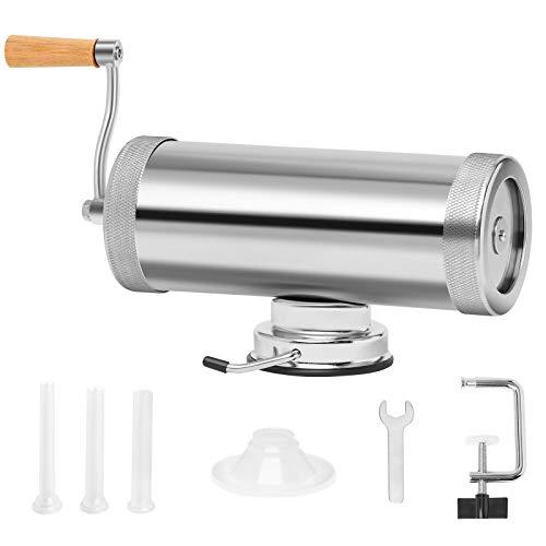 SURPLUWET Sausage Stuffer Machine, 5 LBS Sausage Maker, Manual Meat Stuffer, Saugage Press (5 LBS)