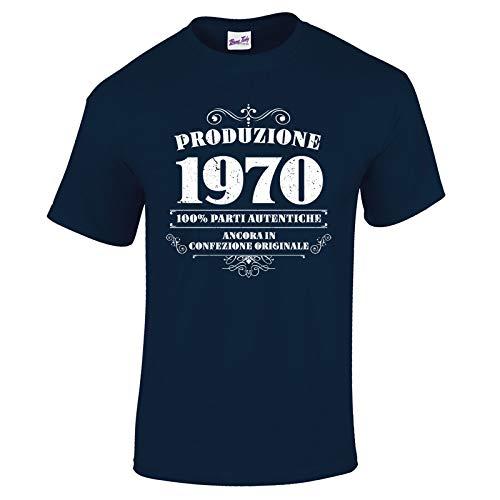 Bang Tidy Clothing T-Shirt da Uomo da 50esimo Compleanno Produzione 1970 – Maglietta Idea Regalo...