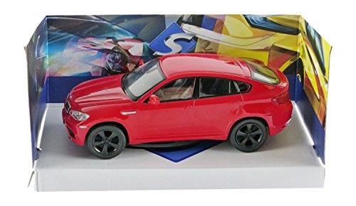 Solido 421436160 - BMW X6 M 2007, Maßstab 1:43, Fahrzeug, rot