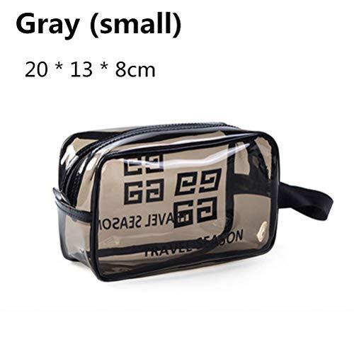 6P6 Net Red Cosmetic Bag Ins Wind Super Portable Femme Voyage Feu Grande Capacité De Lavage Transparent Sac Étanche Boîte De Rangement Sac,A1