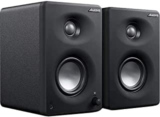 Alesis M1Active 330 USB   Professional USB Desktop Speaker System (Pair) with USB Audio Interface, 3-inch Aluminium Woofers and Bass Boost.