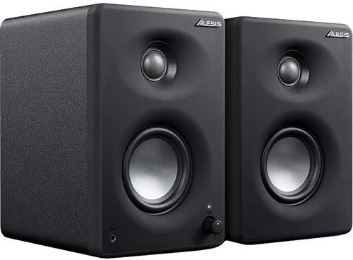 Alesis M1A330USBXUS 3 Inch Monitors 16-bit 44.1kHz Audio InterfacePair Black