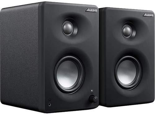 Alesis M1Active 330 USB - Professionelles USB-Desktop-Lautsprechersystem (Paar) mit USB-Audio-Interface, 3-Zoll-Aluminium-Tieftönern und Bass-Boost