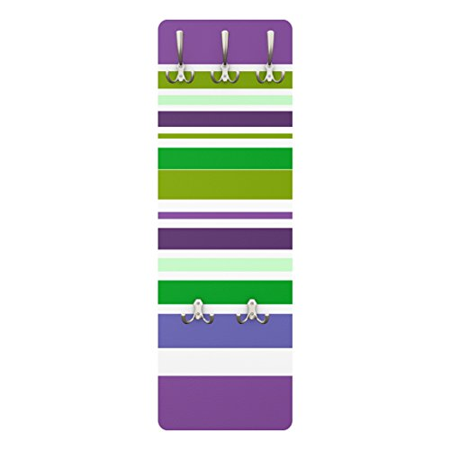 Apalis Coat Rack–Super Stripes No. 17139x 46x 2cm, Garderobe, Wandgarderobe, Kleiderhaken, Wandgarderobe, Kleiderständer, Garderobenständer