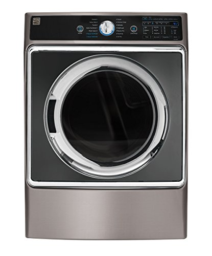 Kenmore Elite 9.0 cu. ft. Front Control Electric Dryer with Accela Steam in Metallic Silver, includes delivery and hookup - 02681963