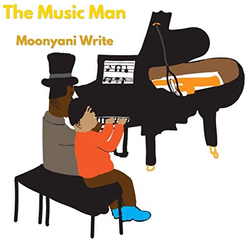 The Music Man audiobook cover art