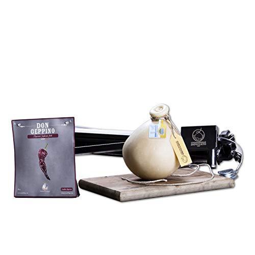 CACIOCAVALLO IMPICCATO| Kit Box BASIC | Ideale per GRIGLIATE | FESTE CON AMICI | PIC-NIC | Prodotti Biologici made in Basilicata