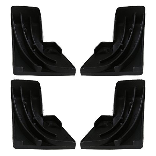 2 Paar WD8X228 WD8X227 Silikagel-Türspanplatte Ersatz für GE Geschirrspüler Tür rechts und links