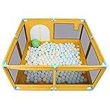 Smmli-Toy Baby Zaun, Kinderspiel Zaun Indoor Baby Krabbeldecke Kleinkind Zaun Home Ball Pool Spielzeug Kind bruchsicher Zaun (ohne Ball)