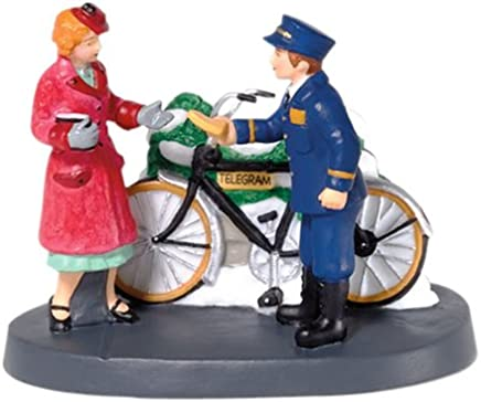 Department 56 Christmas in the City Your Telegram, Maam Accessory Figurine