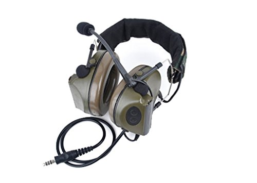 Z-Tactical Comtac II Military Style Radio Head Set F Green