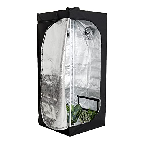 BRAMBLE! Carpa de Cultivo Hidropónico Interior - Caja de Cultivo Aislado para Plantas y Vegetación en Interiores, 61x61x140cm