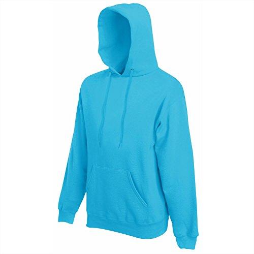 Fruit of the Loom - Kapuzen-Sweatshirt 'Hooded Sweat' M,Azure Blue