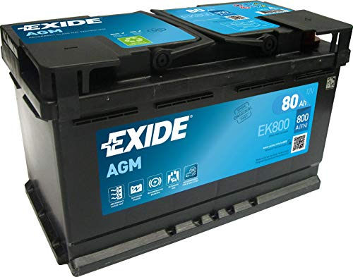Exide EK800 AGM Car Battery Type 110 115 (3 Year)