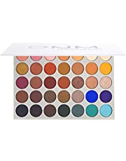 Bisofice 35 Colors Eyeshadow Palette Cosmetic Makeup Kit Matte Shimmer Eye Shadow Highlighters High Pigment Eye Shadow Plattet Neon Colorful Eye Cosmetic All In One Makeup Pallet