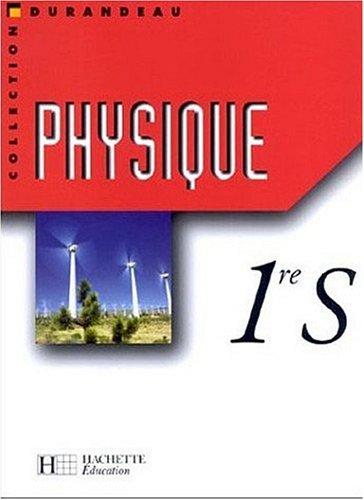 Physique, 1ère S