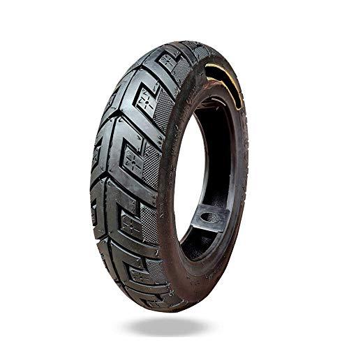 JQCHY Neumáticos para Scooter eléctrico, neumáticos inflables al vacío, 90/90-10 de Alta Resistencia a la abrasión, cómodos y de Poco Ruido, Antideslizantes Anchos, adecuados para Motocicletas, el