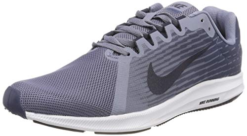 Nike Men's Downshifter 8 Running Shoes (10.5 EEEE US, Black/White/Anthracite)