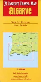 Algarve Insight Travel Map